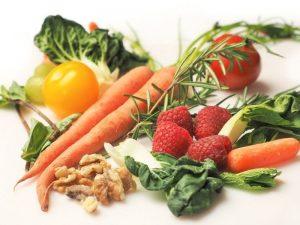Alimentos incluidos en una comida natural para perros dieta barf